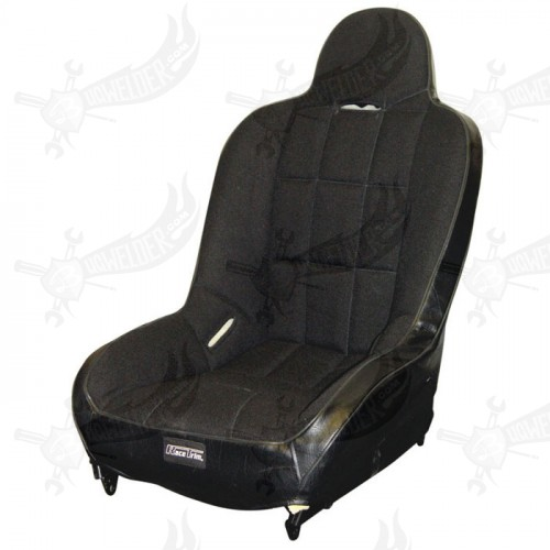 "Sportsitz Race Trim "" Super Seat"" Tweed Stoff schwarz"