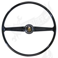 Steering wheel, Flat4 VW style T2 >67 black