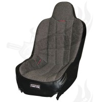 "Sportsitz Race Trim "" Super Seat"" Tweed Stoff grau"