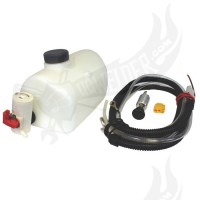Washer bottle kit T1 early -67 12v