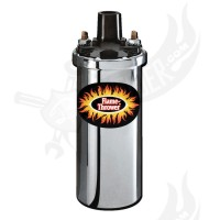 "Zündspule ""Flame Thrower I "" ® chrom"