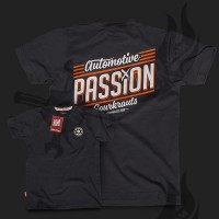 T-Shirt Automotive Passion Schwarz