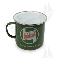 "Kaffeebecher ""Castrol Classic"" Emaille"